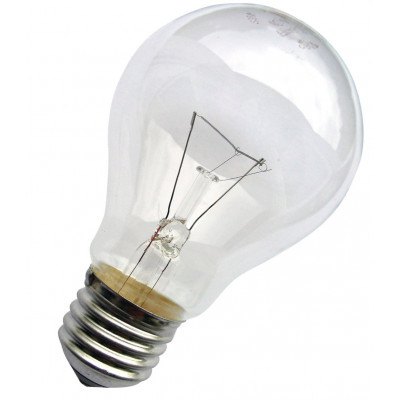 Лампа накаливания ЛОН 25W E27 в гофре