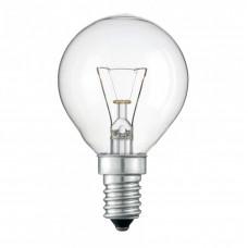 Лампа накаливания Шарик 40W E14 прозрачная в гофре