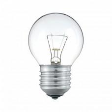 Лампа накаливания Шарик 40W E27 прозрачный в гофре