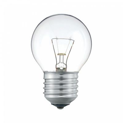Лампа накаливания Шарик 40W E27 прозр. в гофре