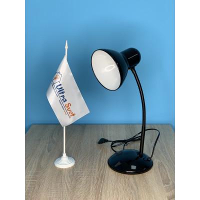 """Настольная лампа 096 чёрная с выключателем """"LEMANSO"""" LMN096"""