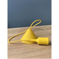 """Подвес пластиковый """"V-образный""""  + E27 желтый 1м для LED ламп """"LEMANSO"""" LMA072"""