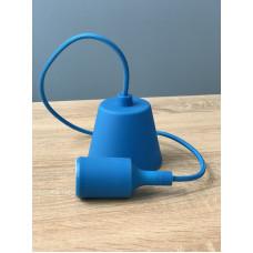 """Подвес пластиковый """"T-образный"""" + E27 синий 1м для LED ламп  """"LEMANSO"""" LMA074"""