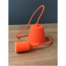 """Подвес пластиковый """"T-образный"""" + E27 оранжевый 1м для LED ламп  """"LEMANSO"""" LMA074"""