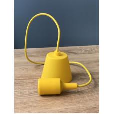 """Подвес пластиковый """"T-образный"""" + E27 желтый 1м для LED ламп  """"LEMANSO"""" LMA074"""