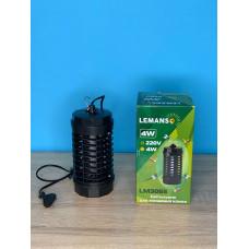 """Светильник от комаров T5 4W G5 220-240V 115x115x225мм черный """"LEMANSO"""" LM3065"""