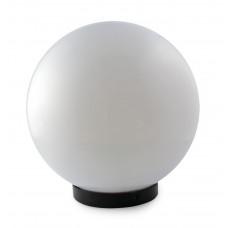"Шар диаметр 250 белый макс. 40W + база с E27 ""LEMANSO"" PL2104"